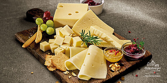 Creative snacks with cheese