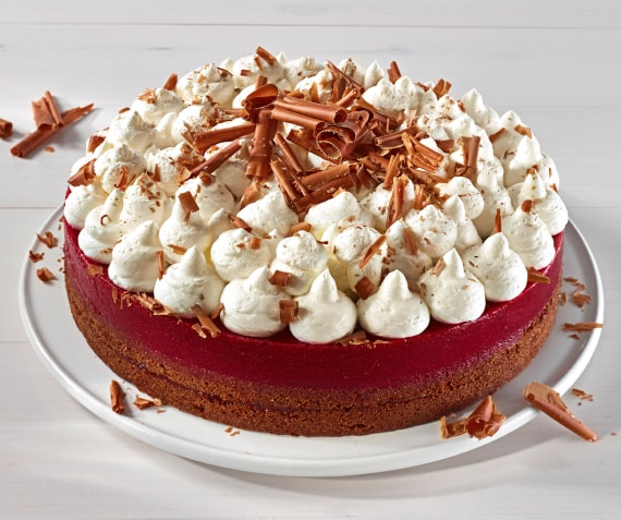 Cherry and Cream Black Forest Cake